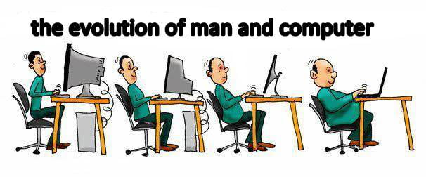 The evolution of man and computer