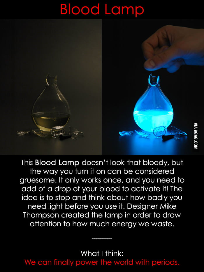 Blood Lamp