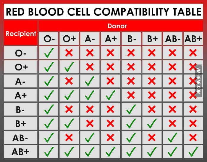 Scumbag AB+ Blood Type