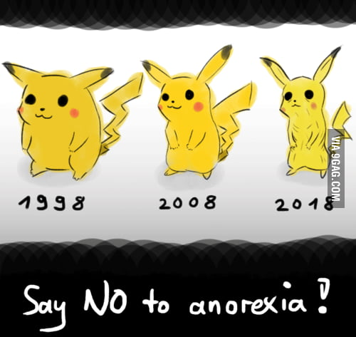 Say no to anorexia