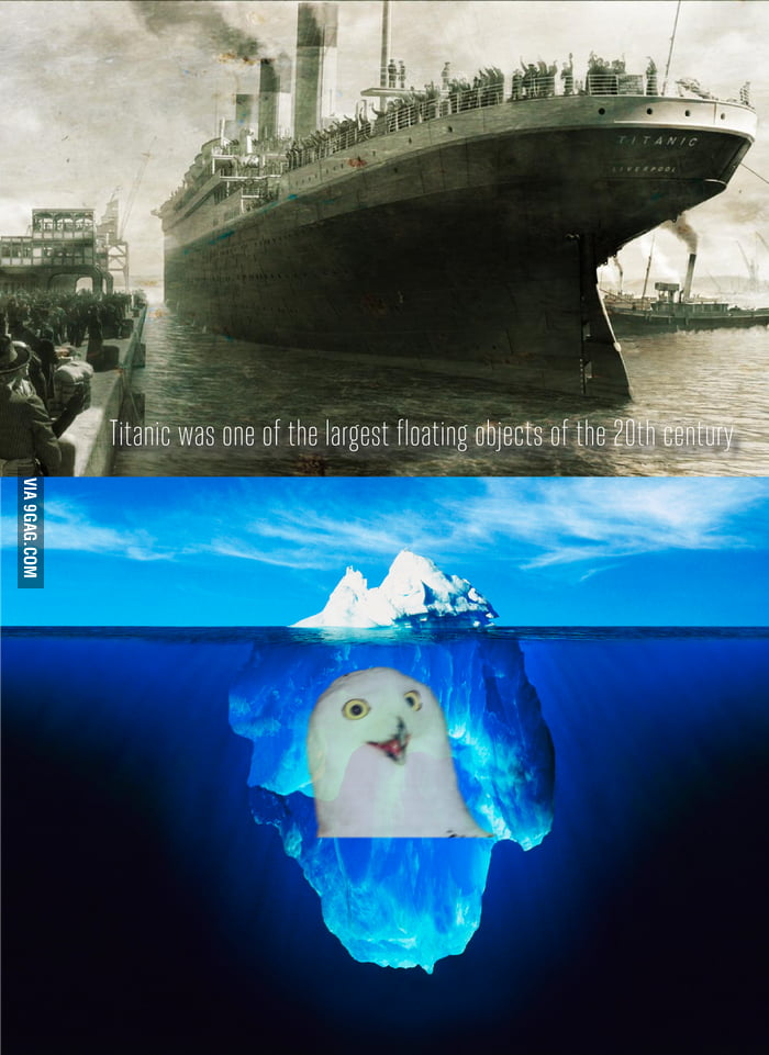 Titanic, titanic ahead, sir