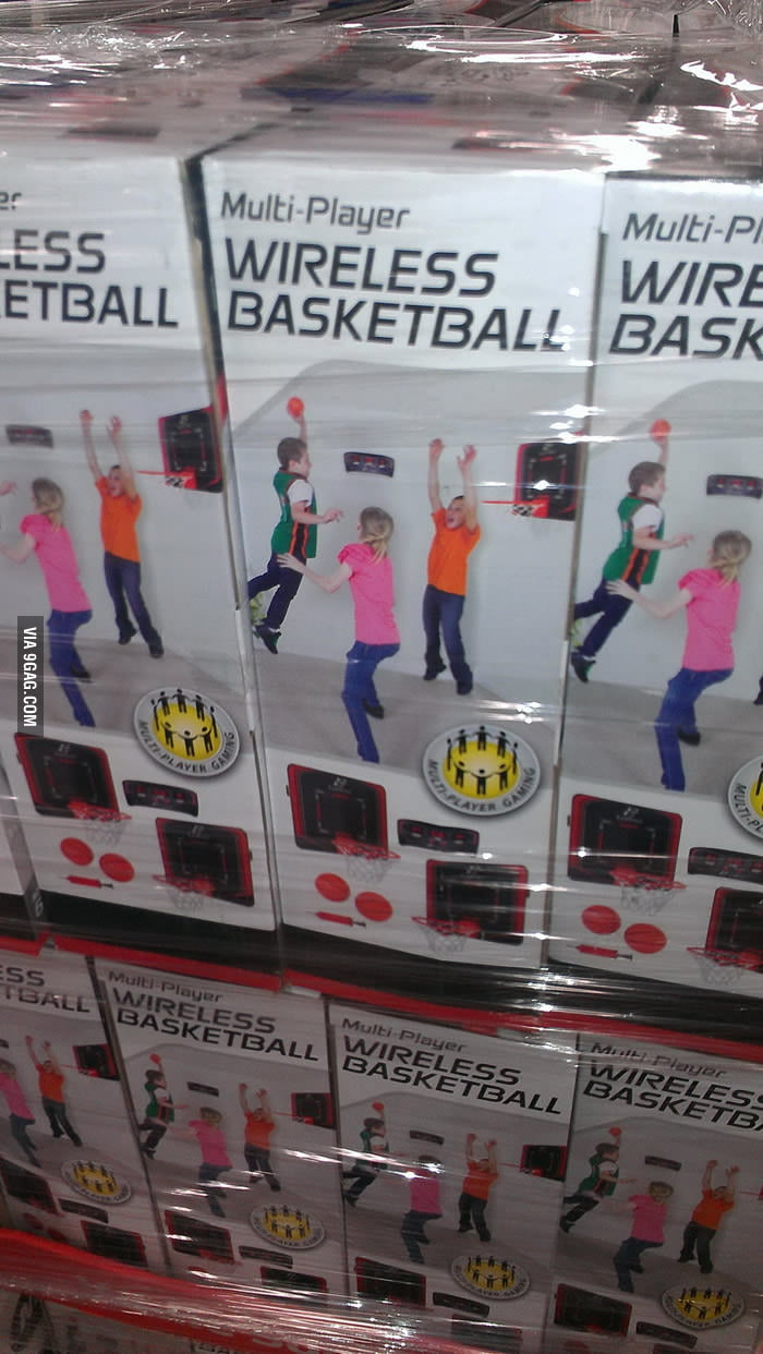 Multi-Player Wireless Basketball