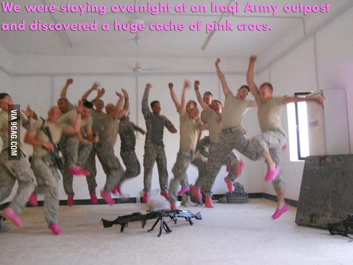 Being in the army is fabu