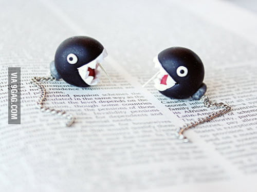 Chain Chomps earrings