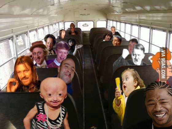 Craazy bus ride
