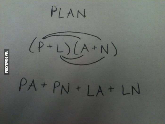 I foiled your plan.