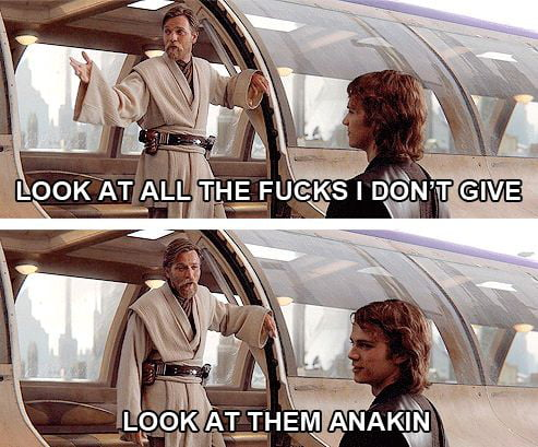 Look at then anakin
