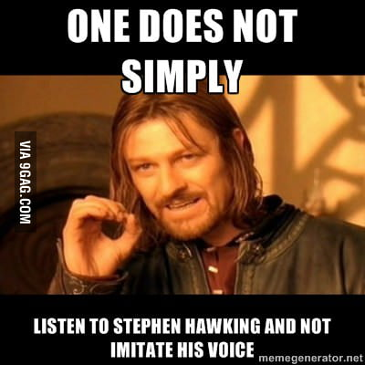 We all love Stephen Hawking