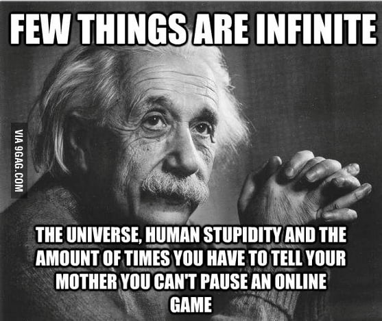 Few things are infinite
