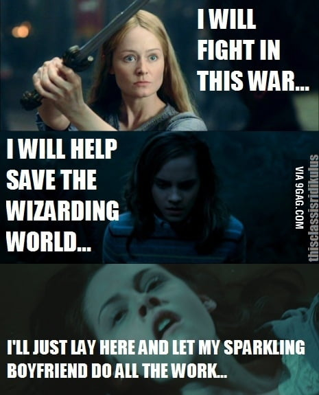 A brave woman will...and bella well...