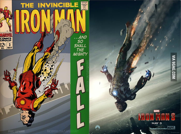 Iron Man 3 comic