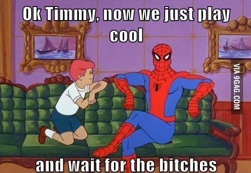 Role model Spiderman