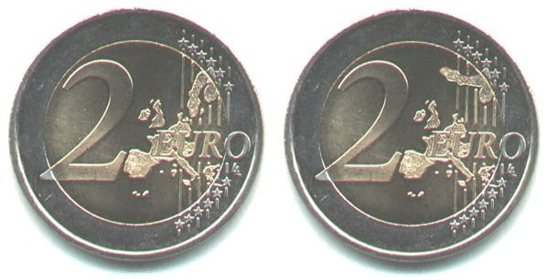 Fake 2 € coin. When you see it...