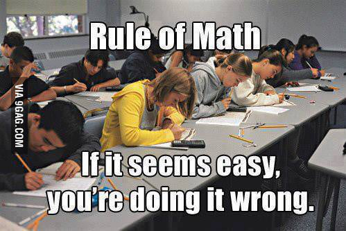 Ugly Truth of Math