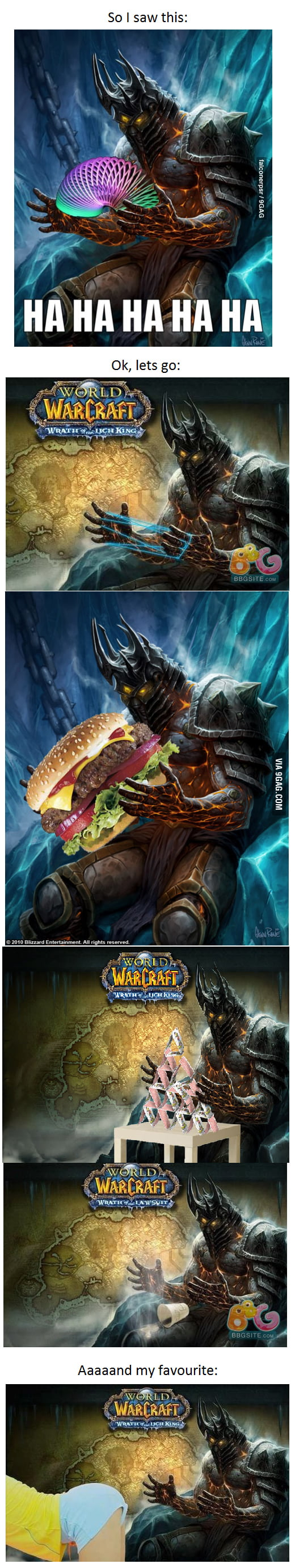Lich King and his finest.