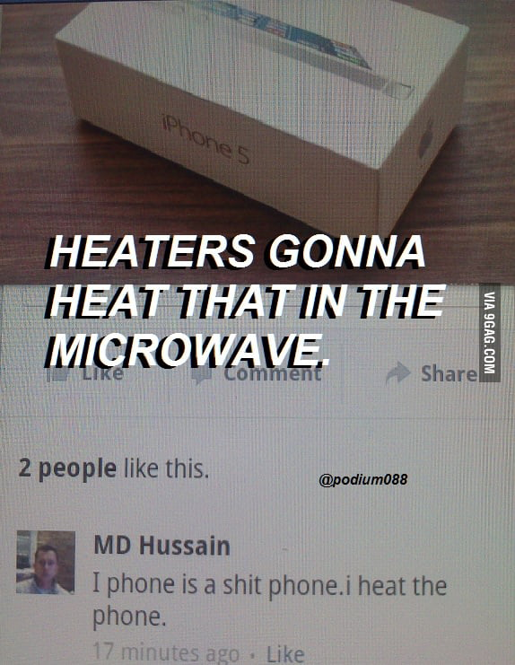 Heaters gonna heat