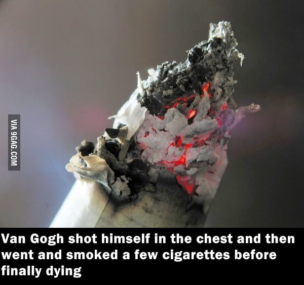 Van Gogh is badass