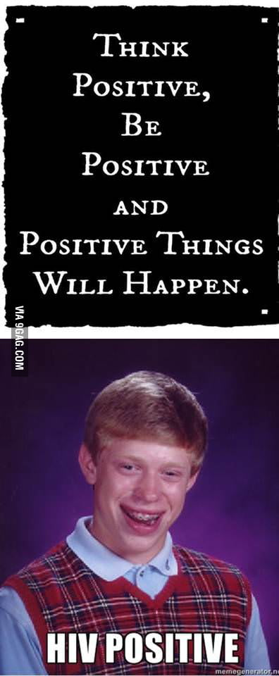 Positive Bad Luck Brian