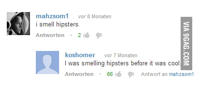 Hipsters on youtube