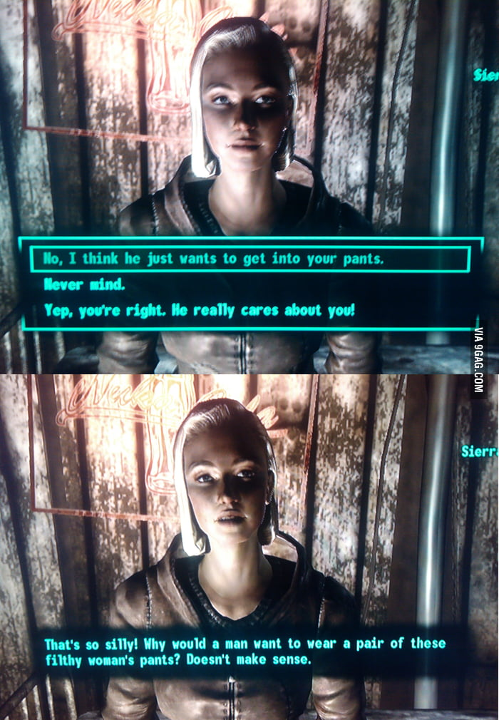 Sexually Oblivious Fallout 3 Girl