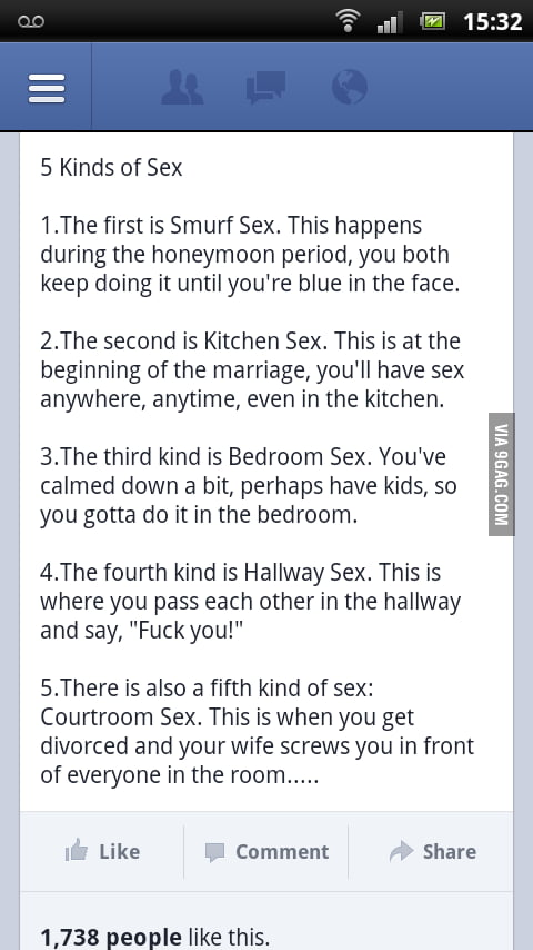 5 Kinds of Sex