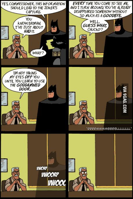 Batman's secret