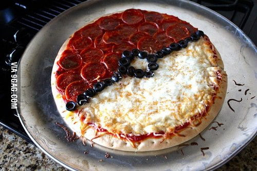 Pizza, I choose you!