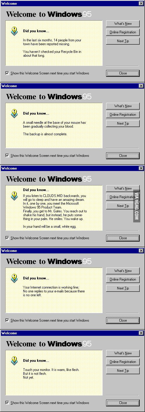 WTF Windows 95?