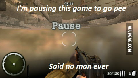 Pause? B*tch Please!