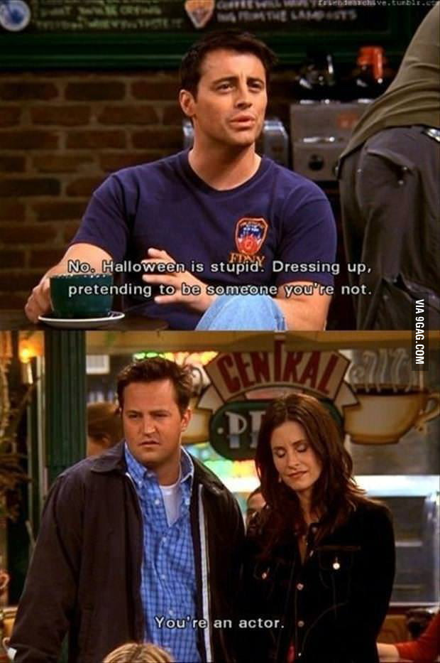 Chandler as we know him