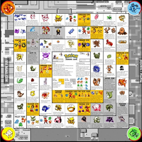 The Best High Resolution Pokemon Drinking Board Game PNG