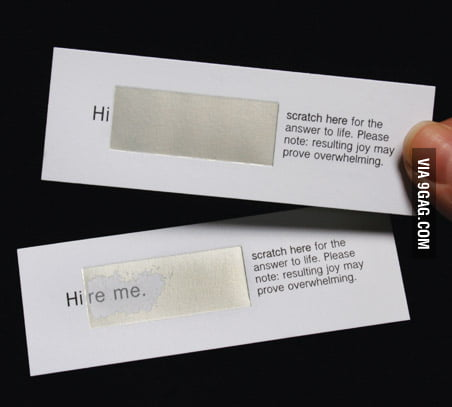 I need these business cards.