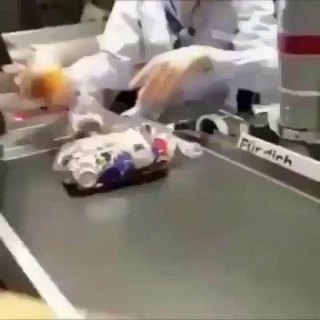 Toblerone prank