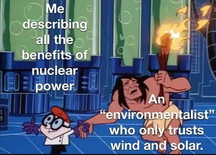 Solar *is* nuclear