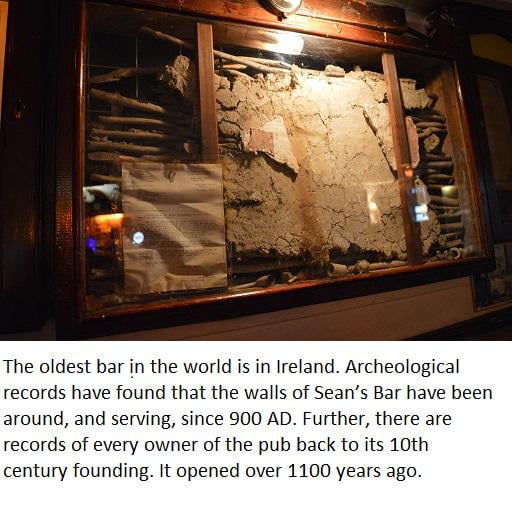 Possibly the oldest Bar in the World