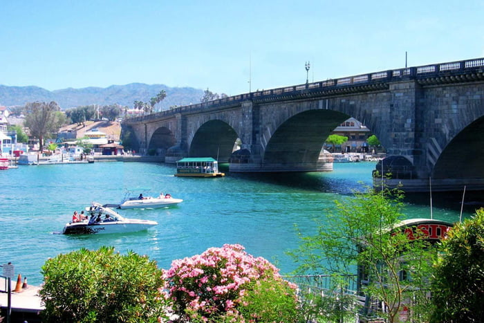 In 1968, the city of London sold a bridge from 1831 to Robert McCulloch for $2.46 million, who then had it shipped, brick by brick and rebuilt in Lake Havasu City, Arizona. It's now the 2nd largest tourist attraction in the state, beat only by the Grand Canyon.