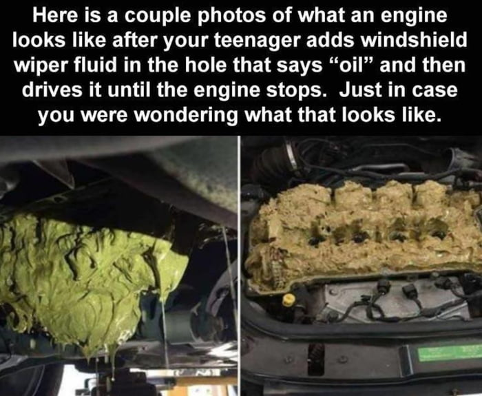 And remember to check your blinker fluid