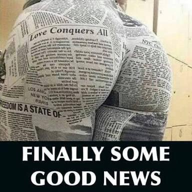 """""""good news"""""""