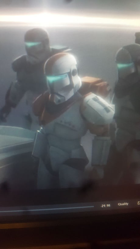 Watching Star Wars The Clone Wars When Suddenly Mother F King Delta Squad Appears 9gag