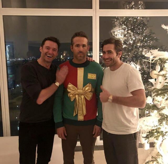 Ryan Reynolds thought he was attending a sweater party.