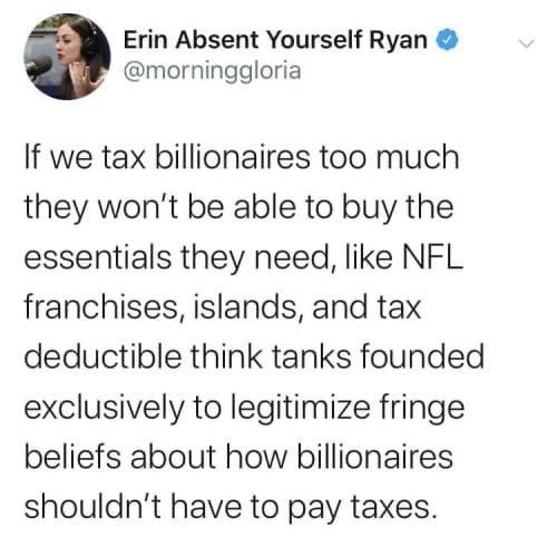 They can afford it