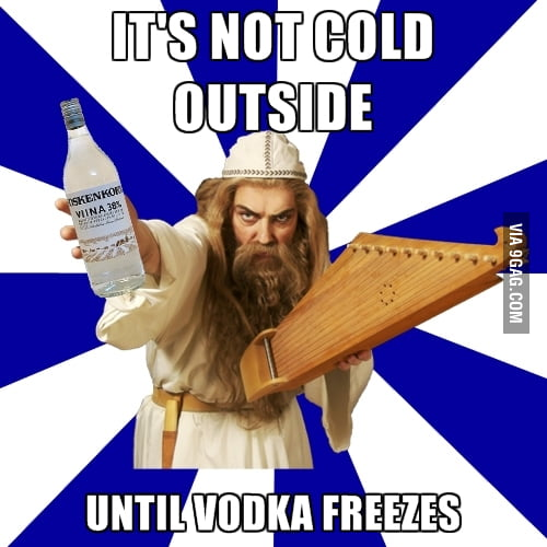 Finland... It's not cold outside