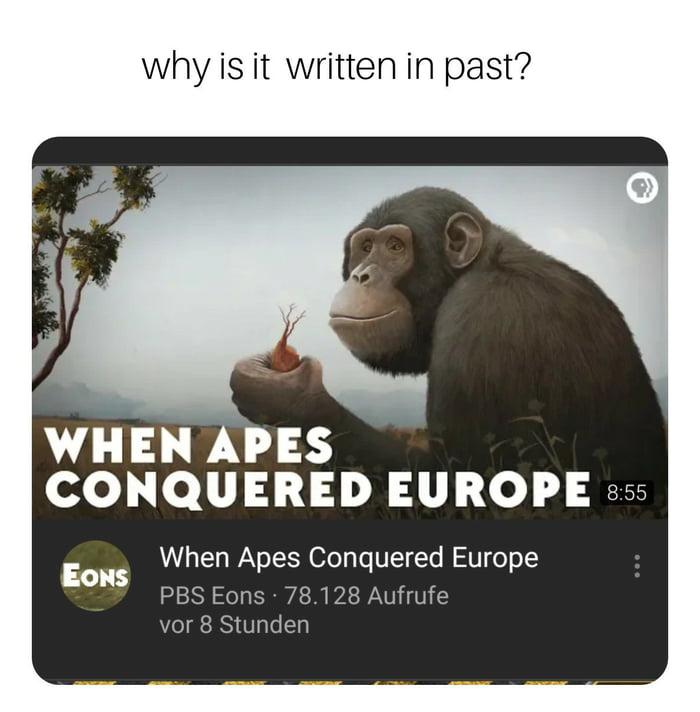 Imagini amuzante si haioase - Apes of Europe