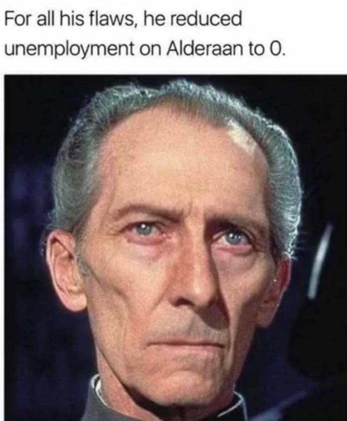 Alderaan, it was just a poor man's Naboo