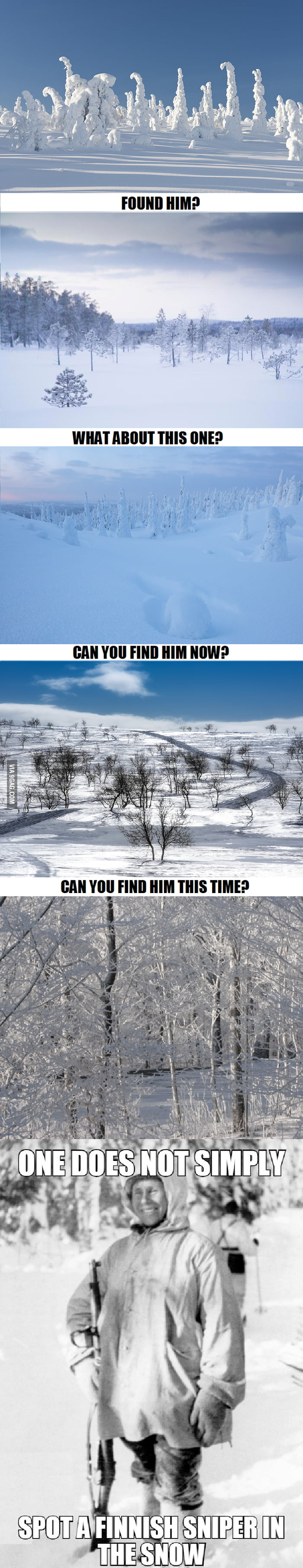Can you find the Finnish sniper?