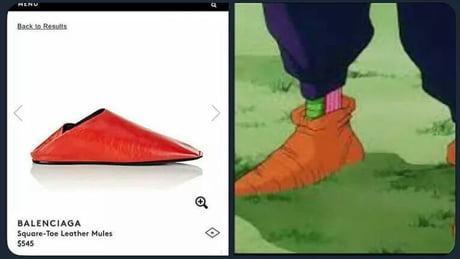 Now I know where Picollo buy his shoes