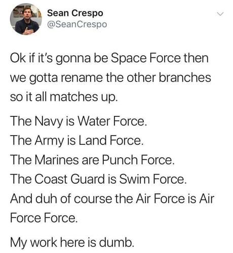 Forces assemble