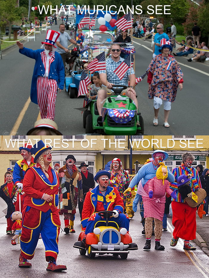 Tomorrow will be fun day. With colorful parade and fireworks...