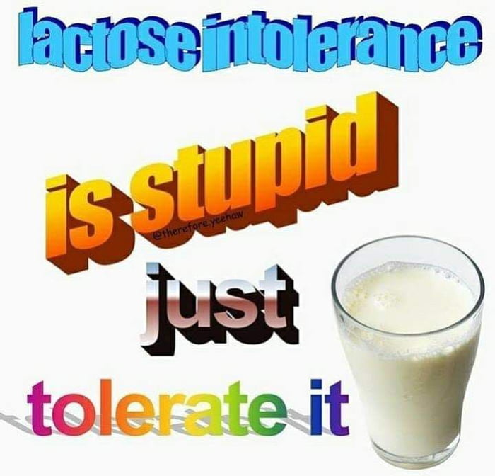 Lactose intolerance rate drops to 0%