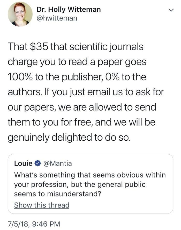 A life hack for anyone in higher education.